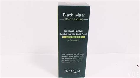 White Charcoal Detox Mask Label by Bamboo Label Charcoal Blackhead Remover Peel