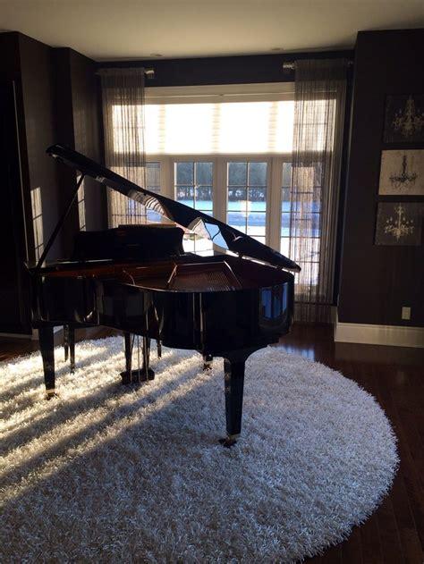 Piano Hardwood Floor by Piano Room Piano