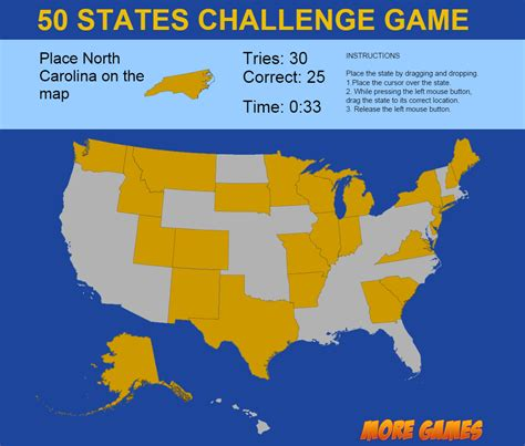 us state map quiz buzzfeed united states map 50 states challenge by dexterfly