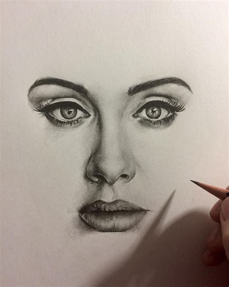 best drawing best by pencil adele realistic pencil drawing
