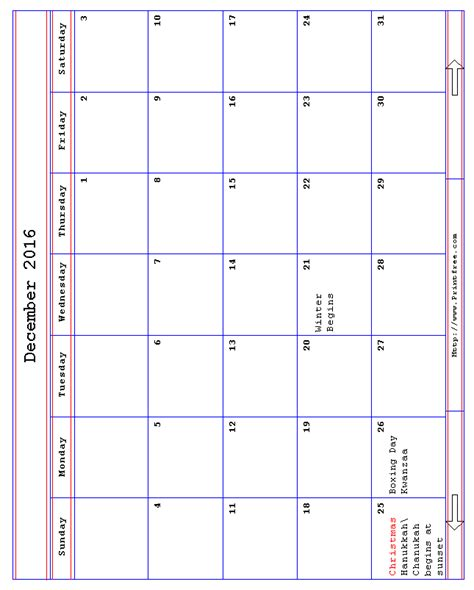 Printfree Calendars Print It