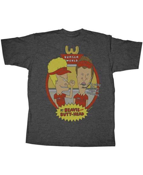 burger world beavis and butthead t shirt