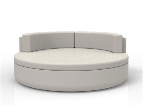 large round sofa ulm daybed large round outdoor sofa with comfort backrest