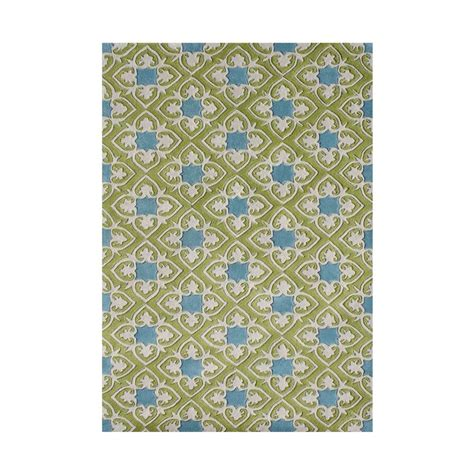 Peacock Blue 5 Ft X 8 Ft Handmade Area Rug 70020 5x8 Home Depot Area Rugs 5x8
