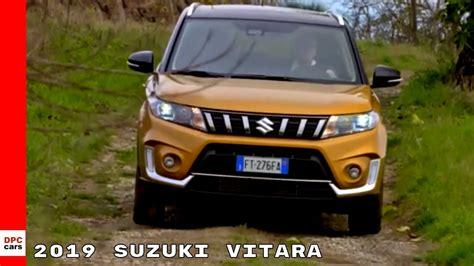 2019 Suzuki Suv by 2019 Suzuki Vitara Suv