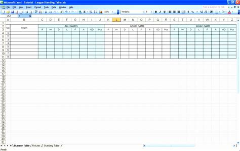 14 Football Stat Sheet Template Excel Exceltemplates Exceltemplates Excel Football Template