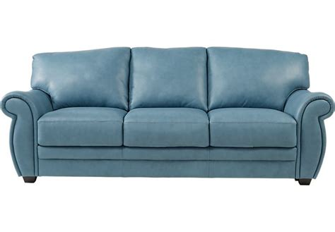 Blue Leather Sofa Bed 1000 Ideas About Blue Leather On Pinterest Blue Leather Sofa Nautical Throws And