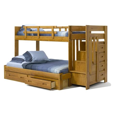 Bunk Beds For Boys With Stairs Bunk Bed For The Boys Room Heartland Reversible Stair Bunk Bed 549 99 On My