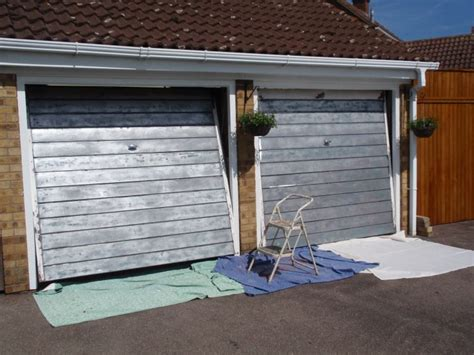 best paint for metal garage doors page 2 homes