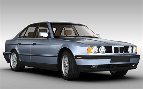 Bmw 5 Series Models by Bmw 5 Series E34 3d Model Max Obj 3ds Fbx Cgtrader