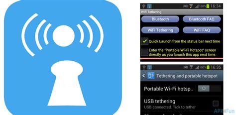 wifi hotspot tether  apk file comwifi