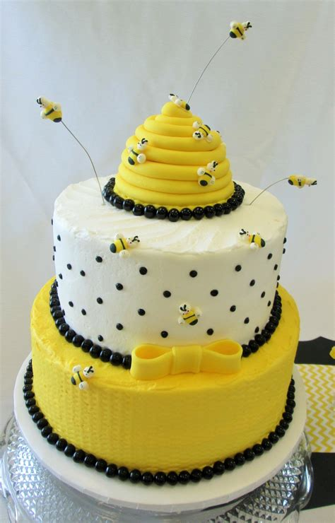 bee birthday cake cakecentral