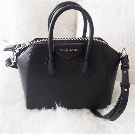Givency Antigona Mini givenchy antigona mini in black textured leather jayne fashion lifestyle