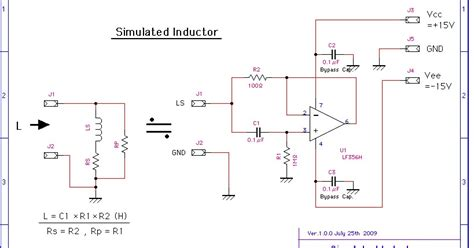 gyrator based inductor gyrator simulated inductor 28 images gyrator circuit simulator 28 images custom pcb for diy