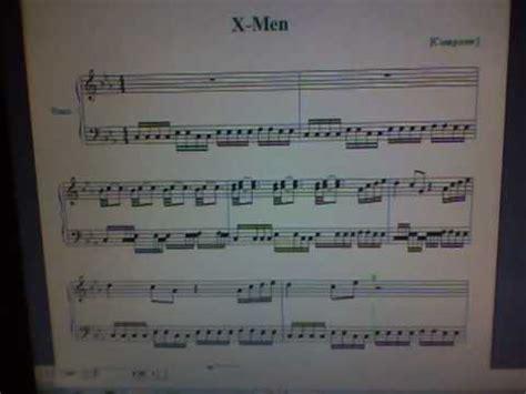magneto theme music x men first class x men theme piano 90 s cartoon old watch new version