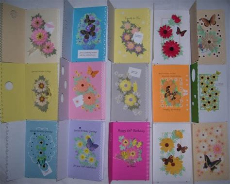 how to make different greeting cards how to make uniquely beautiful floral greeting cards
