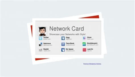 networking card templates 80 free one column single page templates