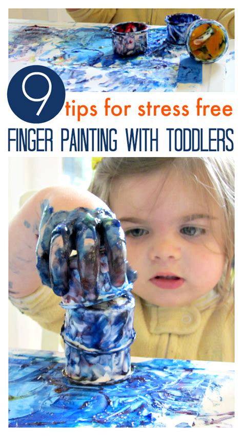 finger painting for toddlers 9 tips for finger painting with your toddler no time for