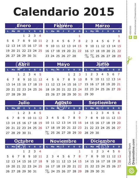 Calendario Washinton Image Gallery Espanol Calendar 2015