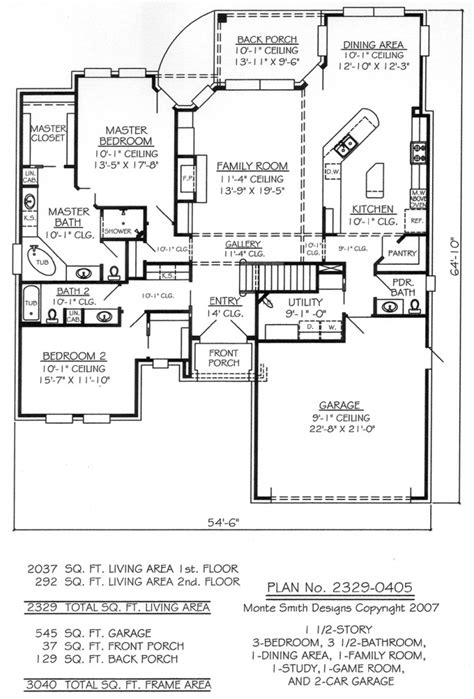 american home design inc american design gallery home plans