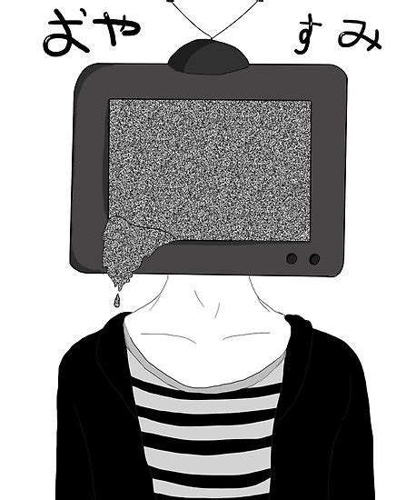 Animetv U by Quot Tv Anime Boy Quot Posters By Mewccin Redbubble