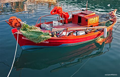 fishing boat maintenance costs greek wooden tradinional fishing boat a photo from larisa