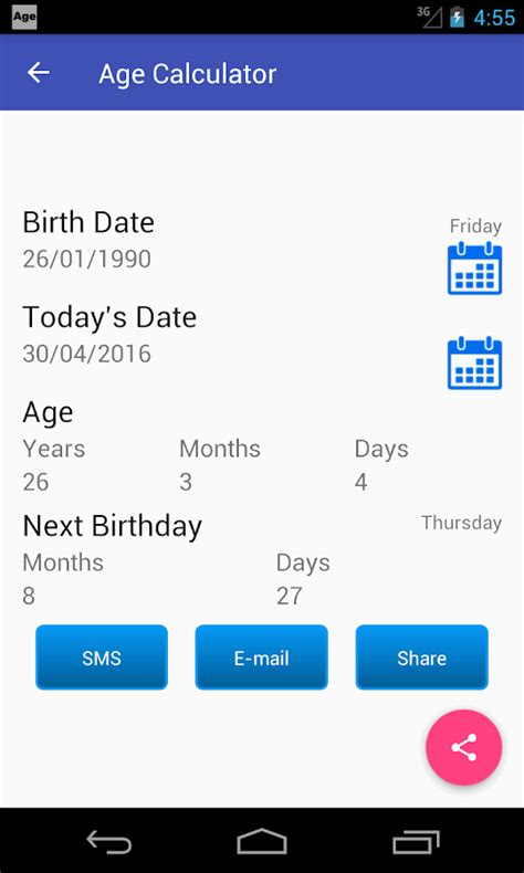 age converter age calculator 7 3 apk android tools apps