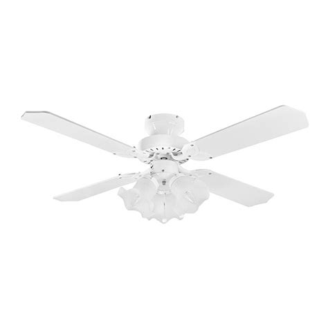 42 inch white ceiling fan with light fantasia eurofans 42 inch pull cord white ceiling fan