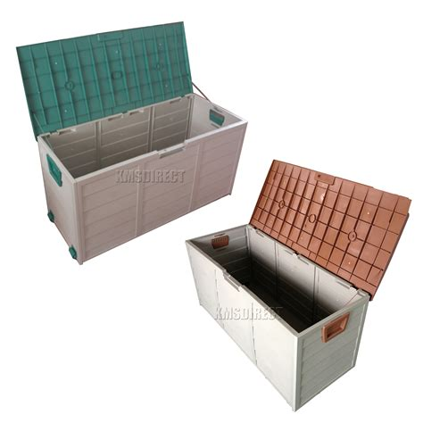 storage containers outdoor plastic shed box build shed from plans