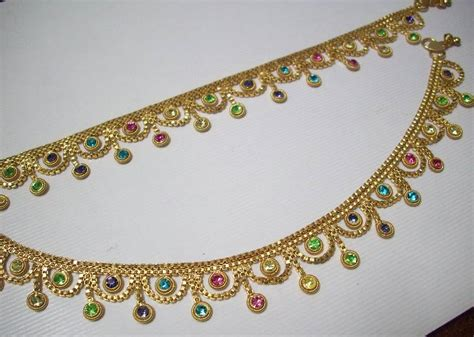 Handmade Payal - buy golden payal color