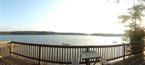 deck boat on lake michigan windjammer resort rental cabins on spider lake