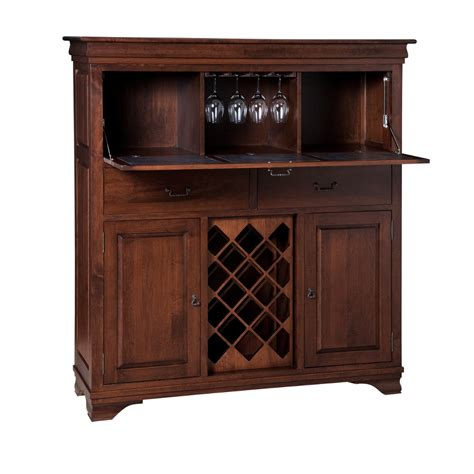 Bar Cabinet Furniture by Bar Cabinet Home Envy Furnishings Solid Wood