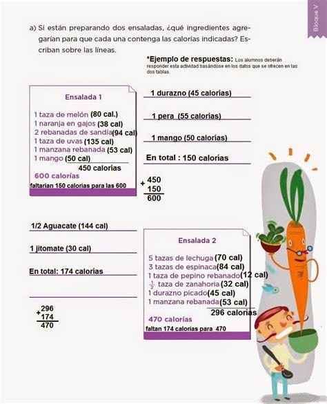 libro contestado de cuarto grado de frutas y verduras desaf 237 os matem 225 ticos 4to bloque 5