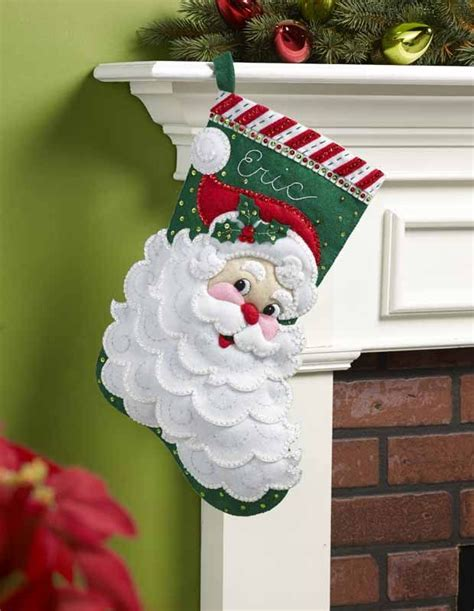 sale jolly santa faces bucilla felt applique tree best 25 felt ideas on diy felt