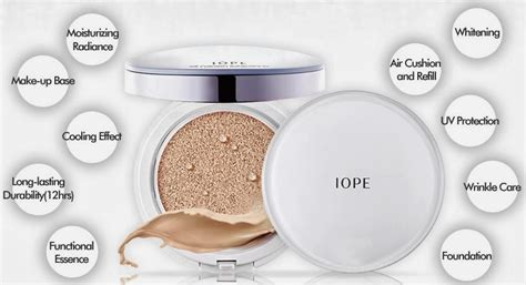 Air Cushion Foundation Dewy Finish ph蘯 n n豌盻嫩 iope air cushion xp spf50 pa