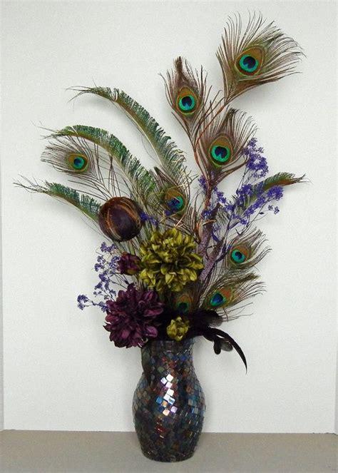silk peacock home decor 11 best silk arrangements images on pinterest flower