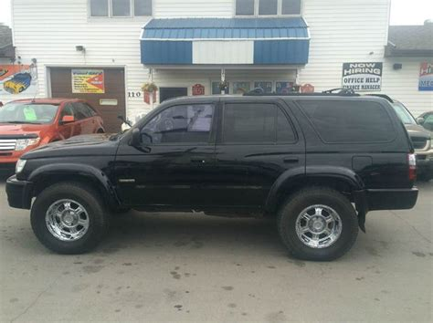 2002 Toyota 4runner Mpg 2002 Toyota 4runner Sr5 4wd 4dr Suv In Grand Forks Nd