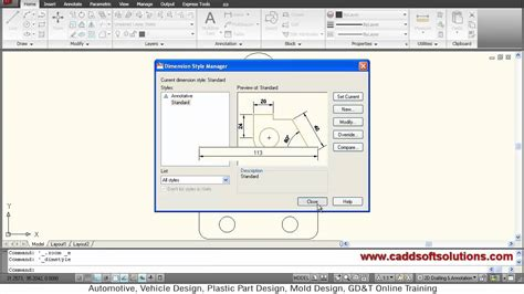 autocad tutorial how to scale autocad dimension scale tutorial dimension text arrow