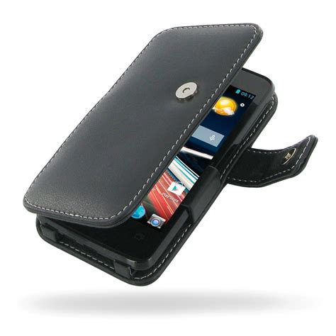 acer liquid z4 leather flip cover pdair wallet sleeve