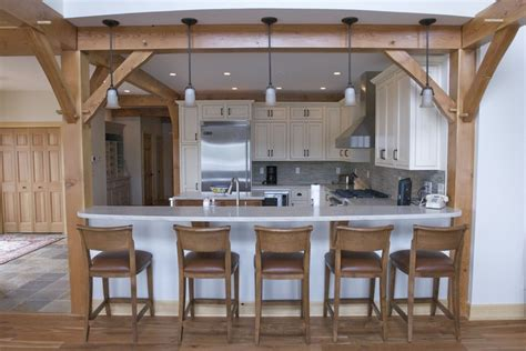 Frame Kitchen by Woodhouse Post And Beam Kitchens