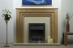 solid oak surround the blagdon mantel fireplace