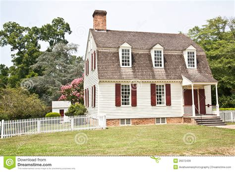 colonial american home royalty free stock images image