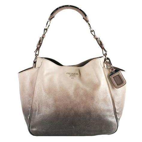 Designer Vs High Ombre Tote by Prada Ombre Bag Prada Leather Brown Bag