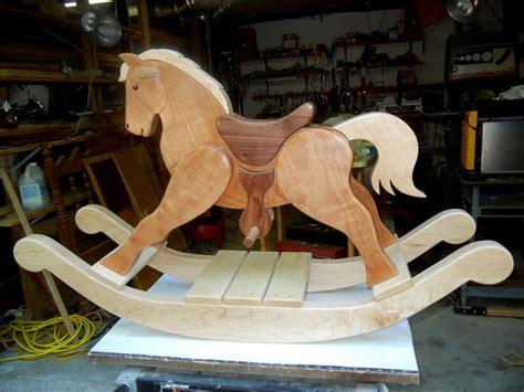 rocking horse  grandson  brolga  lumberjockscom