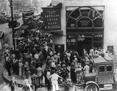 what happened to bank what happened during the great depression weakonomics