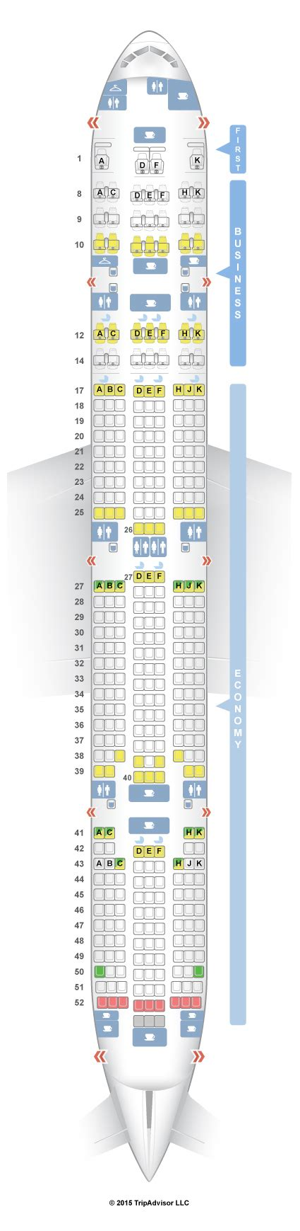 seat selection in air india seatguru seat map air india boeing 777 300er 77w