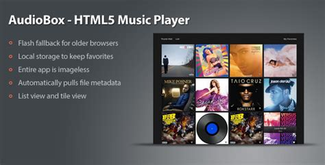 themes music player download audio box music player php script