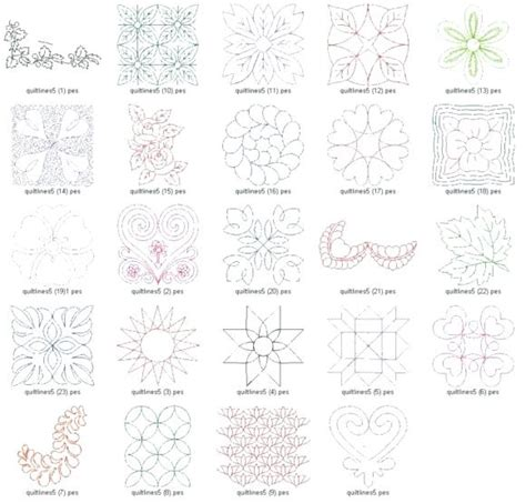 machine embroidery quilting designs free machine