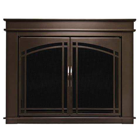 Pleasant Hearth Fireplace Door by Pleasant Hearth Fn 5701 Fenwick Fireplace Glass Door