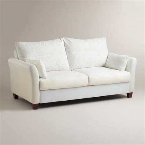 slipcovered furniture sale luxe sofa frame world market